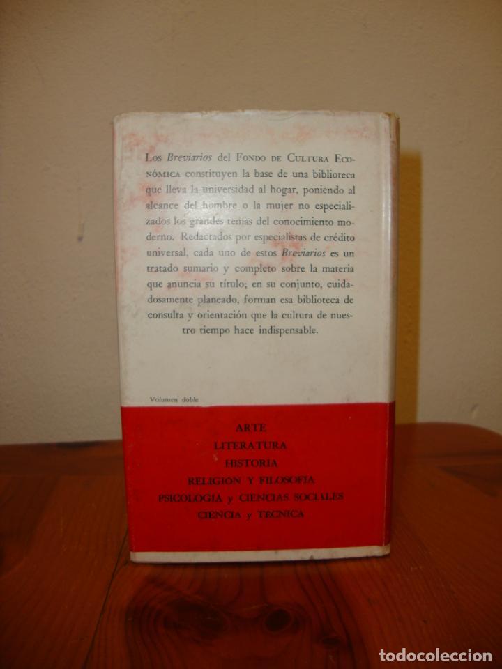 Libros de segunda mano: EL PENSAMIENTO PREFILOSÓFICO. 1. EGIPTO Y MESOPOTAMIA - FCE - Foto 3 - 190634557
