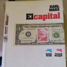 Libros de segunda mano: EL CAPITAL. - MARX, KARL.. Lote 190739408