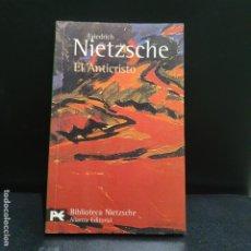 Libros de segunda mano: NIETZSCHE, EL ANTICRISTO, ALIANZA. Lote 190773322