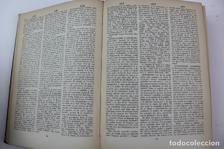 Libros de segunda mano: L-4373. DICCIONARIO DE FILOSOFIA JOSE FERRATER MORA. 2 TOMOS. 1965. - Foto 5 - 190936430
