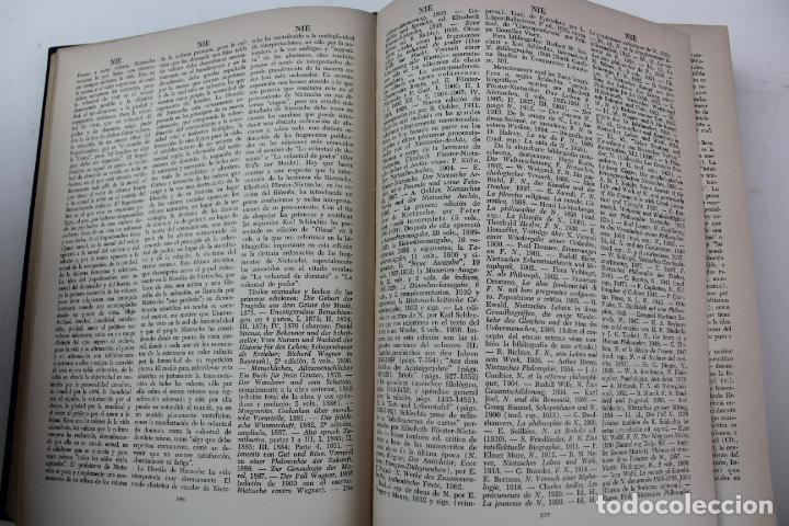 Libros de segunda mano: L-4373. DICCIONARIO DE FILOSOFIA JOSE FERRATER MORA. 2 TOMOS. 1965. - Foto 9 - 190936430