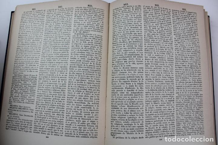 Libros de segunda mano: L-4373. DICCIONARIO DE FILOSOFIA JOSE FERRATER MORA. 2 TOMOS. 1965. - Foto 10 - 190936430
