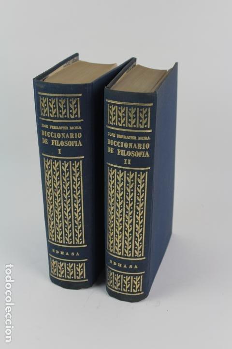 L-4373. DICCIONARIO DE FILOSOFIA JOSE FERRATER MORA. 2 TOMOS. 1965. (Libros de Segunda Mano - Pensamiento - Filosofía)