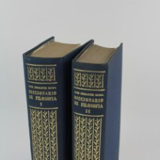 Libros de segunda mano: L-4373. DICCIONARIO DE FILOSOFIA JOSE FERRATER MORA. 2 TOMOS. 1965.. Lote 190936430