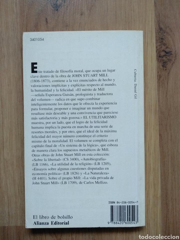 Libros de segunda mano: El utilitarismo. John Stuart Mill. - Foto 2 - 191071670