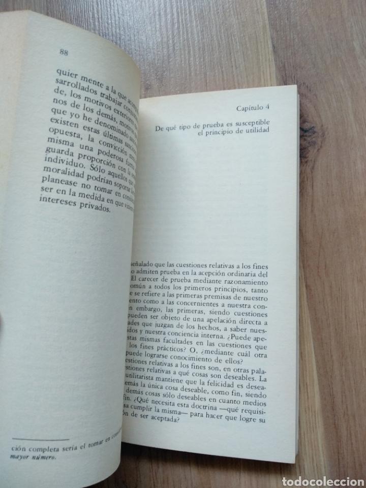 Libros de segunda mano: El utilitarismo. John Stuart Mill. - Foto 3 - 191071670