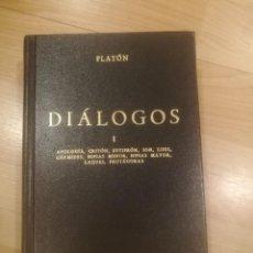 Libros de segunda mano: 'DIÁLOGOS I'. PLATÓN. Lote 191192700