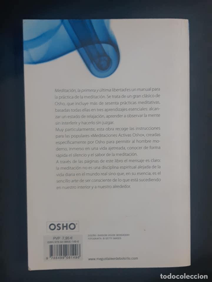 Libros de segunda mano: Meditación Osho - Foto 2 - 191414316