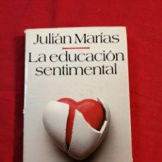 Livros em segunda mão: FILOSOFIA. LA EDUCACION SENTIMENTAL. JULIAN MARIAS. Lote 191732457