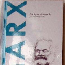 Libros de segunda mano: MARX - DEL ÁGORA AL MERCADO - JOSÉ MANUEL BERMUDO 2015 - NUEVO A ESTRENAR. Lote 192590096