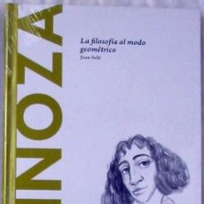 Libros de segunda mano: SPINOZA - LA FILOSOFÍA AL MODO GEOMÉTRICO - JOAN SOLÉ 2015 - NUEVO A ESTRENAR. Lote 192619090