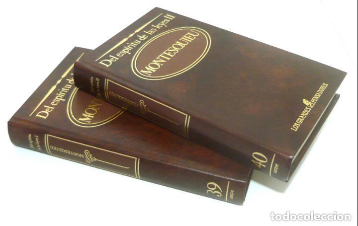 Libros de segunda mano: 1984 - Montesquieu: Del Espíritu de las Leyes - Obra Completa en 2 Tomos - Ilustración Francesa - Foto 7 - 193006207