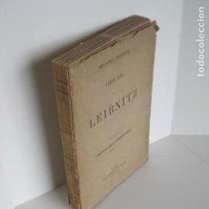Libros de segunda mano: BIBLIOTECA FILOSÓFICA. OBRAS DE LEIBNITZ. TOMO II. NUEVO ENSAYO SOBRE EL ENTENDIMIENTO HUMANO. . Lote 193889871
