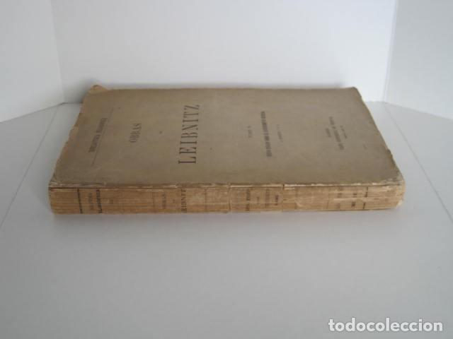 Libros de segunda mano: BIBLIOTECA FILOSÓFICA. OBRAS DE LEIBNITZ. TOMO II. NUEVO ENSAYO SOBRE EL ENTENDIMIENTO HUMANO. - Foto 2 - 193889871