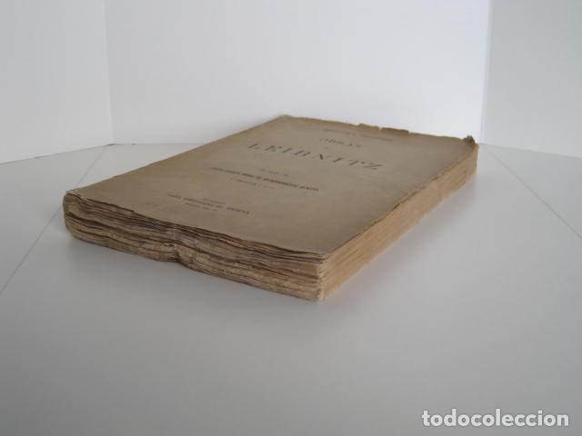 Libros de segunda mano: BIBLIOTECA FILOSÓFICA. OBRAS DE LEIBNITZ. TOMO II. NUEVO ENSAYO SOBRE EL ENTENDIMIENTO HUMANO. - Foto 3 - 193889871
