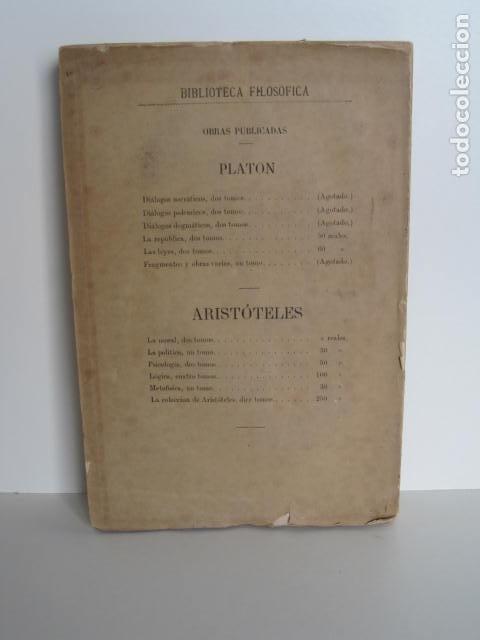 Libros de segunda mano: BIBLIOTECA FILOSÓFICA. OBRAS DE LEIBNITZ. TOMO II. NUEVO ENSAYO SOBRE EL ENTENDIMIENTO HUMANO. - Foto 5 - 193889871