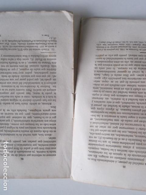 Libros de segunda mano: BIBLIOTECA FILOSÓFICA. OBRAS DE LEIBNITZ. TOMO II. NUEVO ENSAYO SOBRE EL ENTENDIMIENTO HUMANO. - Foto 6 - 193889871