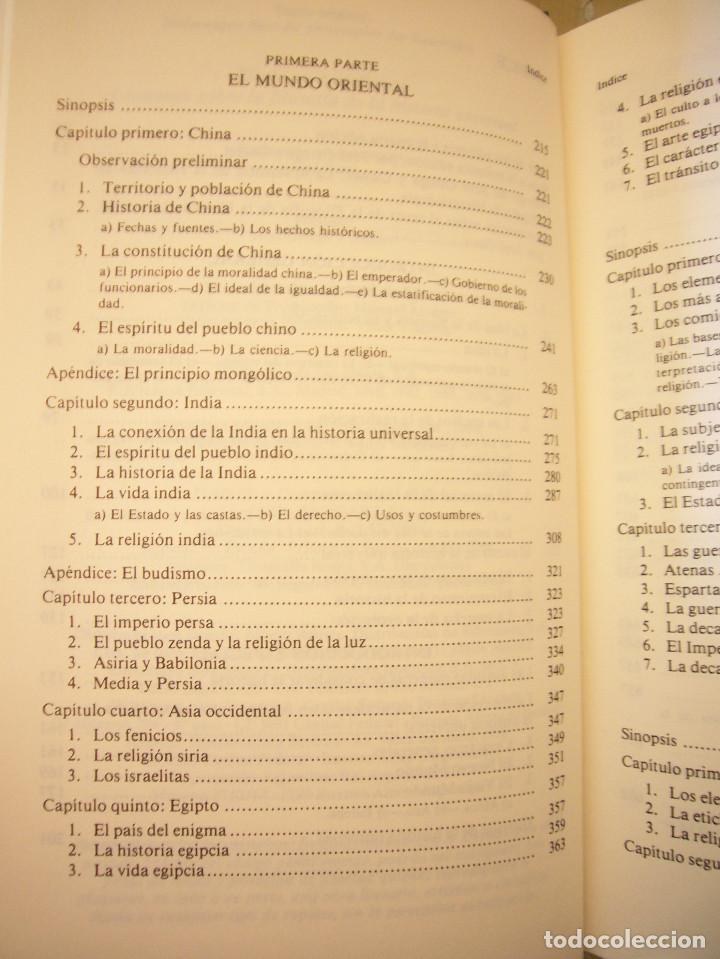 Libros de segunda mano: HEGEL: LECCIONES SOBRE LA FILOSOFÍA DE LA HISTORIA UNIVERSAL I Y II. COMPLETO (ALTAYA/ ALIANZA, 1994 - Foto 7 - 194136447