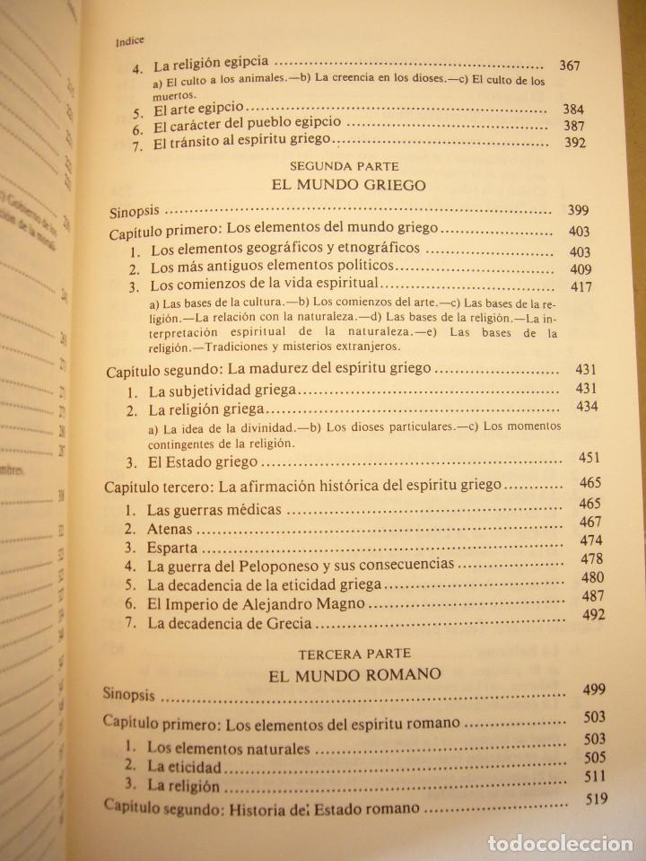 Libros de segunda mano: HEGEL: LECCIONES SOBRE LA FILOSOFÍA DE LA HISTORIA UNIVERSAL I Y II. COMPLETO (ALTAYA/ ALIANZA, 1994 - Foto 8 - 194136447