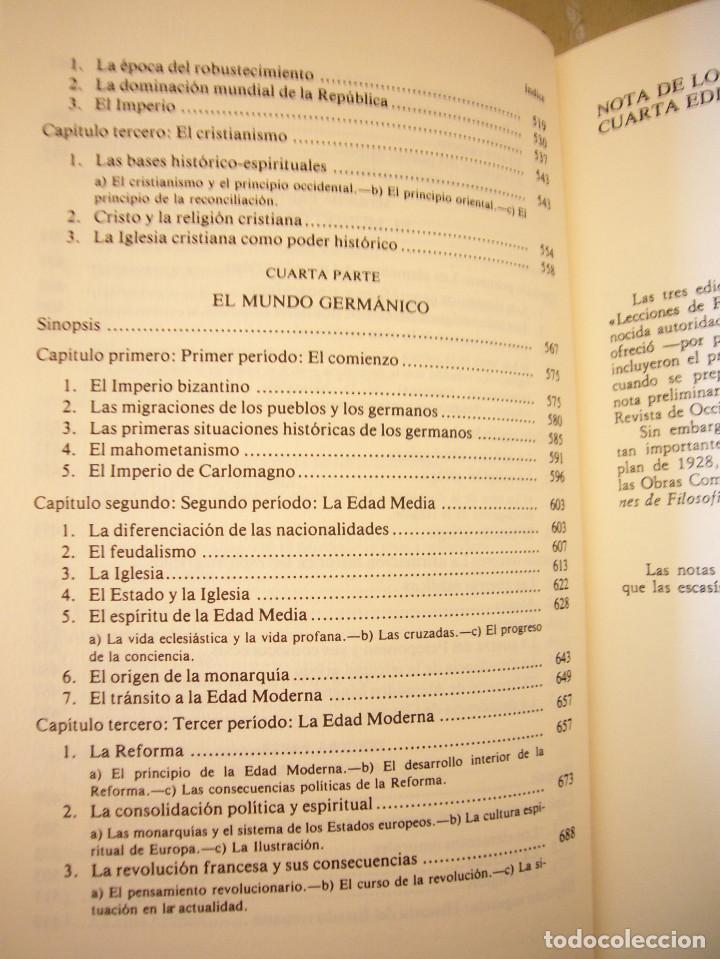 Libros de segunda mano: HEGEL: LECCIONES SOBRE LA FILOSOFÍA DE LA HISTORIA UNIVERSAL I Y II. COMPLETO (ALTAYA/ ALIANZA, 1994 - Foto 9 - 194136447