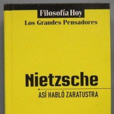Libros de segunda mano: ASI HABLO ZARATUSTRA. NIETZSCHE. GLOBUS. Lote 194219341