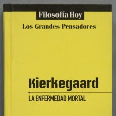 Libros de segunda mano: LA ENFERMEDAD MORTAL. KIERKEGAARD. GLOBUS. Lote 194219417
