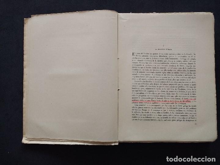 Libros de segunda mano: ANTOLOGÍAS FILOSÓFICAS I. EL TEMA DEL HOMBRE. JULIÁN MARÍAS. REV. DE OCCIDENTE. 1ª ED. MADRID, 1943. - Foto 7 - 194220338