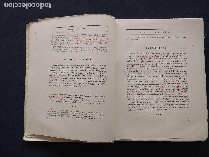 Libros de segunda mano: ANTOLOGÍAS FILOSÓFICAS I. EL TEMA DEL HOMBRE. JULIÁN MARÍAS. REV. DE OCCIDENTE. 1ª ED. MADRID, 1943. - Foto 8 - 194220338
