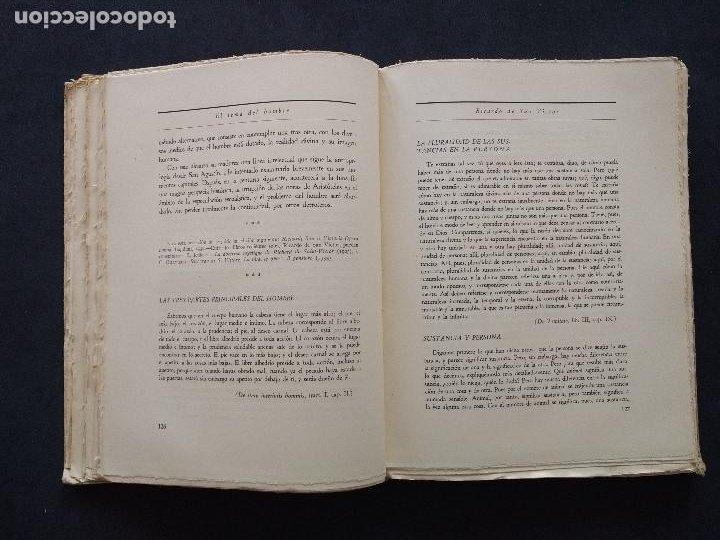 Libros de segunda mano: ANTOLOGÍAS FILOSÓFICAS I. EL TEMA DEL HOMBRE. JULIÁN MARÍAS. REV. DE OCCIDENTE. 1ª ED. MADRID, 1943. - Foto 9 - 194220338