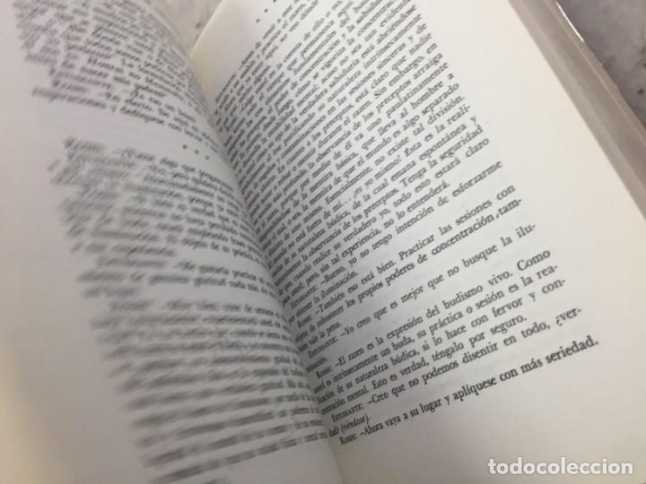 Libros de segunda mano: LOS TRES PILARES DEL ZEN. ENSEÑANZA PRACTICA E ILUMINACION. PHILIP KAPLEAU MÉXICO 1975 1ª EDICION - Foto 5 - 194222712