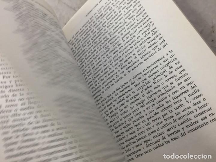 Libros de segunda mano: LOS TRES PILARES DEL ZEN. ENSEÑANZA PRACTICA E ILUMINACION. PHILIP KAPLEAU MÉXICO 1975 1ª EDICION - Foto 7 - 194222712