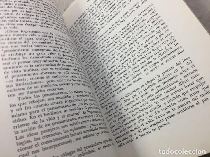 Libros de segunda mano: LOS TRES PILARES DEL ZEN. ENSEÑANZA PRACTICA E ILUMINACION. PHILIP KAPLEAU MÉXICO 1975 1ª EDICION - Foto 8 - 194222712