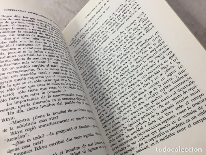 Libros de segunda mano: LOS TRES PILARES DEL ZEN. ENSEÑANZA PRACTICA E ILUMINACION. PHILIP KAPLEAU MÉXICO 1975 1ª EDICION - Foto 9 - 194222712