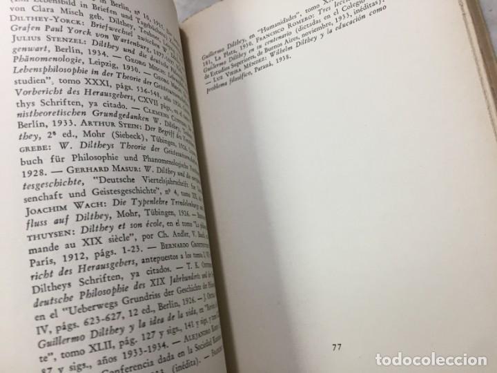 Libros de segunda mano: La esencia de la filosofía Wilhelm Dilthey, Publicado por Losada. 1944 - Foto 5 - 194223071