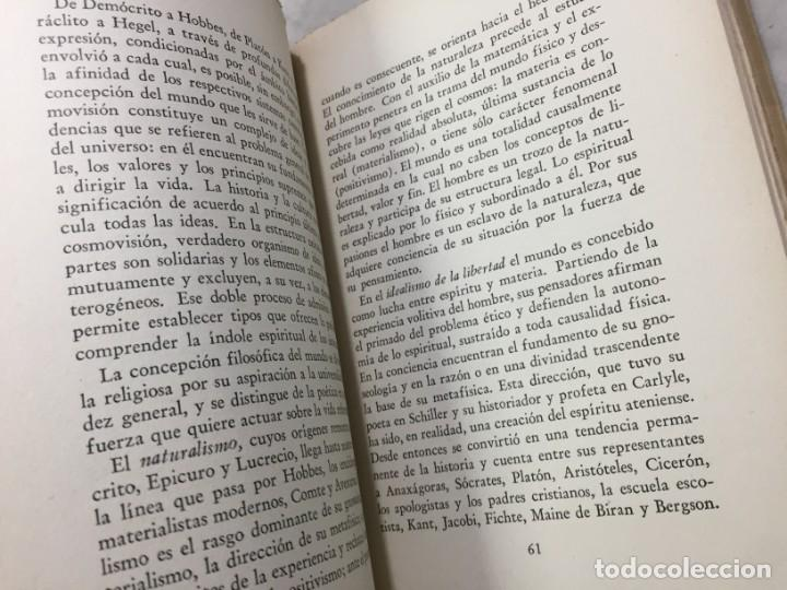 Libros de segunda mano: La esencia de la filosofía Wilhelm Dilthey, Publicado por Losada. 1944 - Foto 6 - 194223071