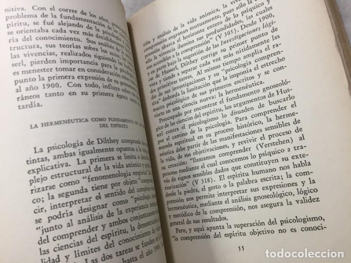 Libros de segunda mano: La esencia de la filosofía Wilhelm Dilthey, Publicado por Losada. 1944 - Foto 7 - 194223071