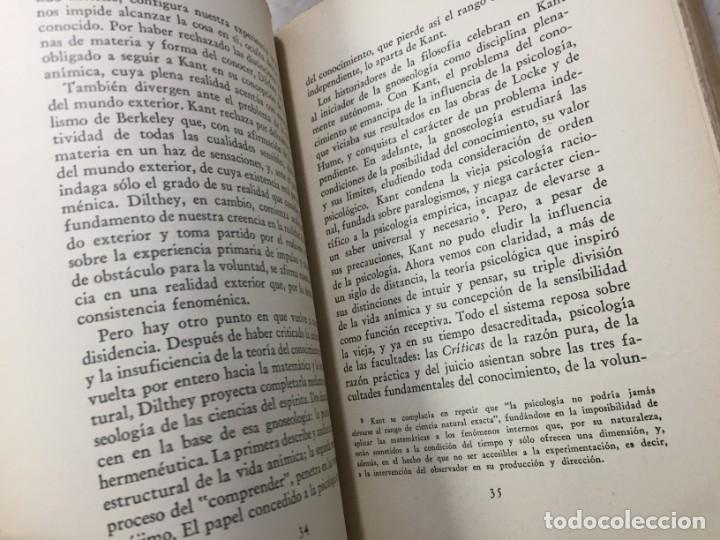 Libros de segunda mano: La esencia de la filosofía Wilhelm Dilthey, Publicado por Losada. 1944 - Foto 8 - 194223071