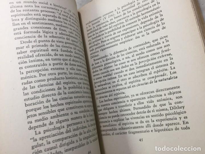 Libros de segunda mano: La esencia de la filosofía Wilhelm Dilthey, Publicado por Losada. 1944 - Foto 9 - 194223071