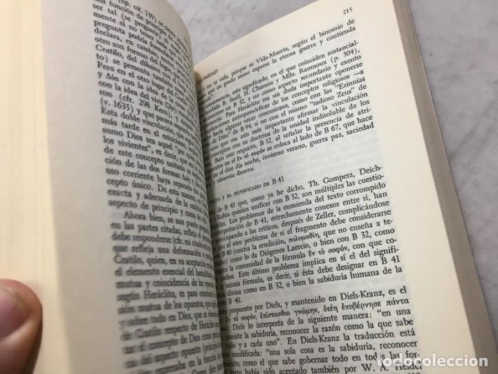Libros de segunda mano: HERACLITO. TEXTOS Y PROBLEMAS DE SU INTERPRETACION. RODOLFO MONDOLFO 1978 SIGLO XXI - Foto 5 - 194223658