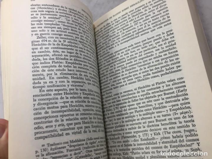Libros de segunda mano: HERACLITO. TEXTOS Y PROBLEMAS DE SU INTERPRETACION. RODOLFO MONDOLFO 1978 SIGLO XXI - Foto 8 - 194223658