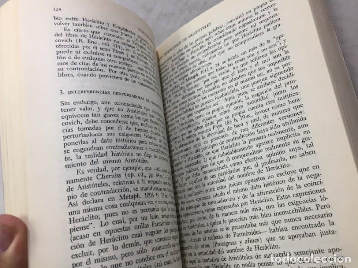 Libros de segunda mano: HERACLITO. TEXTOS Y PROBLEMAS DE SU INTERPRETACION. RODOLFO MONDOLFO 1978 SIGLO XXI - Foto 9 - 194223658