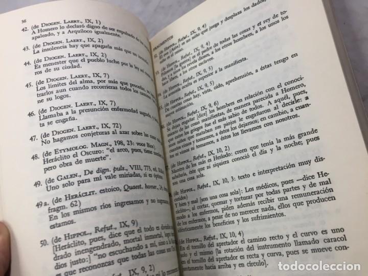 Libros de segunda mano: HERACLITO. TEXTOS Y PROBLEMAS DE SU INTERPRETACION. RODOLFO MONDOLFO 1978 SIGLO XXI - Foto 11 - 194223658