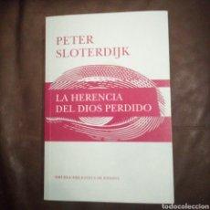 Libros de segunda mano: LA HERENCIA DEL DIOS PERDIDO. Lote 194240282
