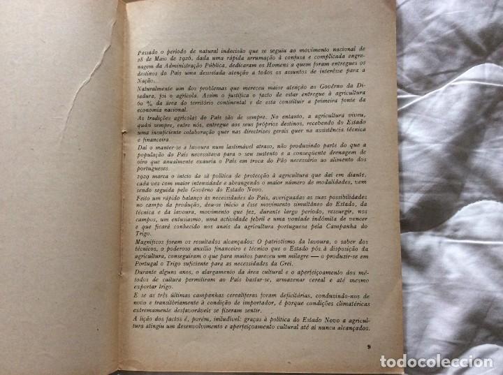 Libros de segunda mano: O Estado novo e a Agricultura. Edições SPN, 1938. - Foto 3 - 194242813