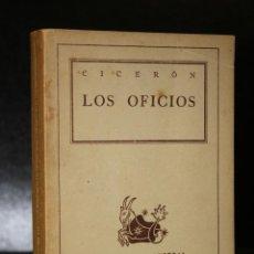 Libros de segunda mano: LOS OFICIOS.. Lote 194271997