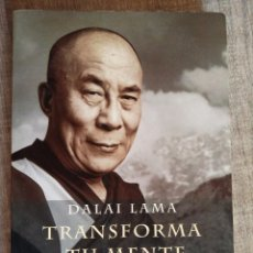 Libros de segunda mano: DALAI LAMA - TRANSFORMA TU MENTE - ED. MARTINEZ ROCA. Lote 194293151