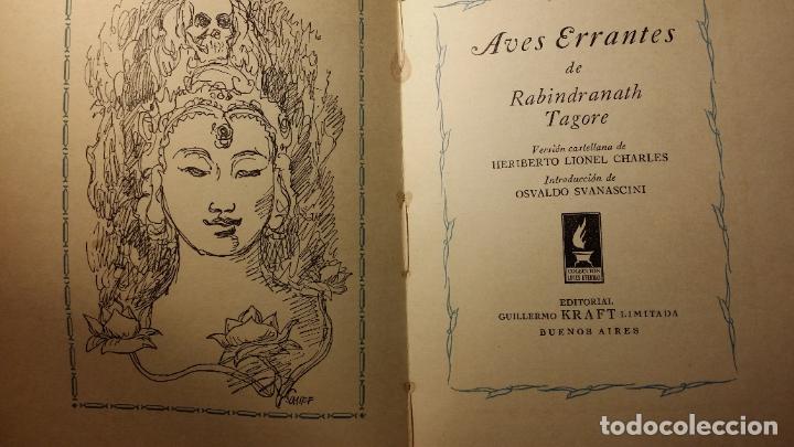 Libros de segunda mano: Aves errantes, Rabindranath Tagore - Foto 4 - 194342576
