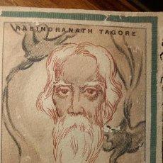Libros de segunda mano: AVES ERRANTES, RABINDRANATH TAGORE. Lote 194342576