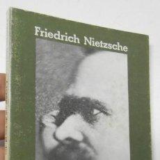 Libros de segunda mano: CREPÚSCULO DE LOS ÍDOLOS - FRIEDRICH NIETZSCHE. Lote 194373575