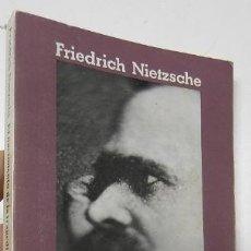 Libros de segunda mano: EL NACIMIENTO DE LA TRAGEDIA - FRIEDRICH NIETZSCHE. Lote 194373676